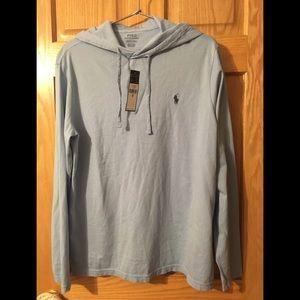Ralph Lauren Men's Jersey T-shirt Hoodie , Size M